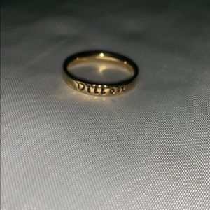 Customized gold ring